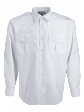 Pompiers Ref 145g Sapeurs Blanche Homme 551 V Chemise Manches Longues QCtsxhrd