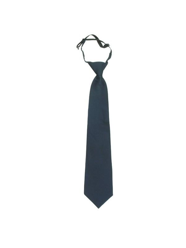 cravate noeud fait avec elastique reglable polyester marine ref 903. Black Bedroom Furniture Sets. Home Design Ideas